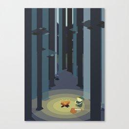 Kentucky Route Zelda - Lost Woods Canvas Print