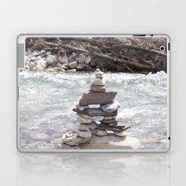 Johnson Canyon Inukshuk Laptop & iPad Skin