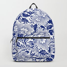 confused timeline with japanese lady Backpack