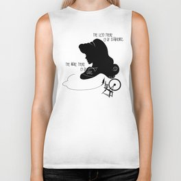 The More There is Of Love Biker Tank