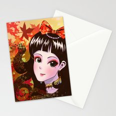 Autumn Maiden Stationery Cards