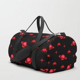 saturn invaders Duffle Bag