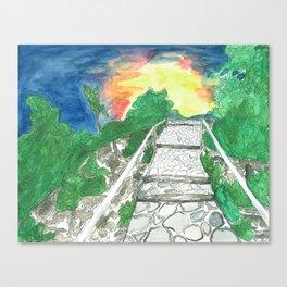 Evening Over Mt. Baldy Canvas Print