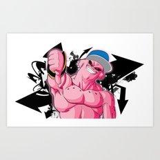 The Fresh Djinn - Super Buu Art Print