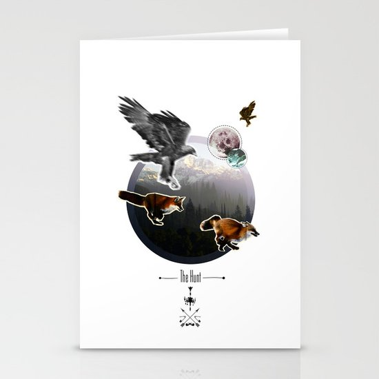 The Hunt. Stationery Cards