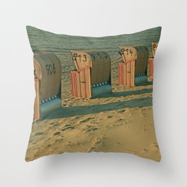The lonesome four Throw Pillow
