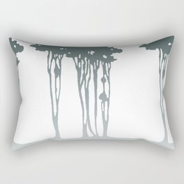 Trees in the Mist Rectangular Pillow