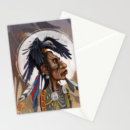 Medicine Crow Stationery Cards
