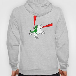 Dinosaur Riding Unicorn (With Lasers) Hoody