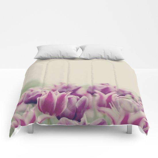 Tulips II Comforters