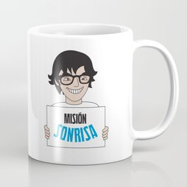 Misión sonrisa promocionales Coffee Mug