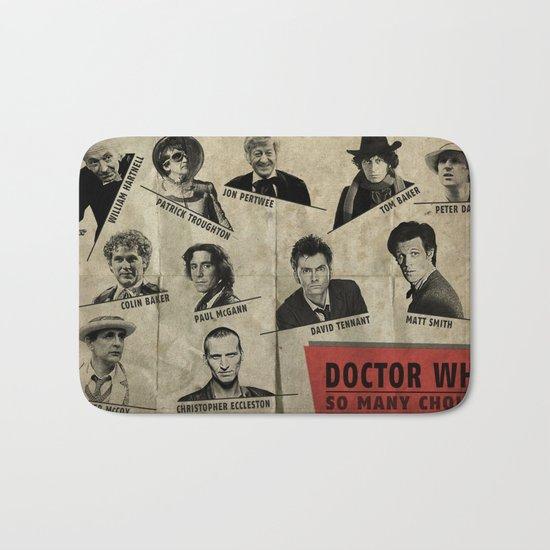 So Many Choices (Doctor Who) Bath Mat