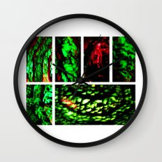 Blood Emerald Wall Clock