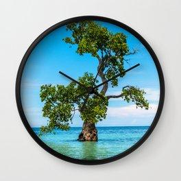 Tree Siquijor, Philippines Wall Clock