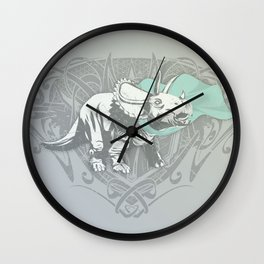 Fearless Creature: Frill Wall Clock