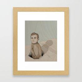 Bill Murray Spirit Animal Framed Art Print