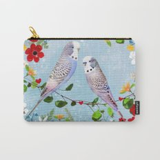 Budgerigars Carry-All Pouch