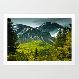 Scenic Mountain Art Print