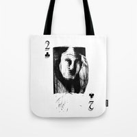 card Tote Bags featuring Card by AMPHOTO ArtPrint