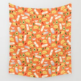 Tacos and Burritos Wall Tapestry