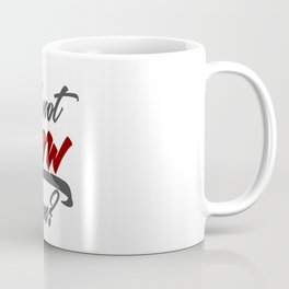 Stop Procrastination No Inertia Act Now Coffee Mug