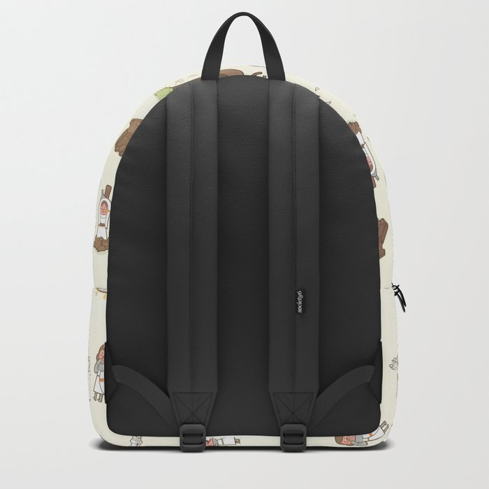 The Holy Grail Pattern Backpack