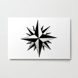Dirty Star Metal Print