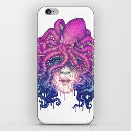 Dark Queen of The Deep Sea iPhone Skin