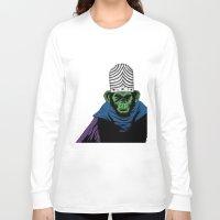 jojo Long Sleeve T-shirts featuring Mojo Jojo by Miguel Villasanta