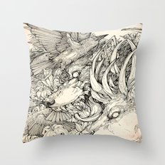 Chaos Divine  Throw Pillow