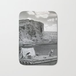 IN THE GRAND CANYON Bath Mat