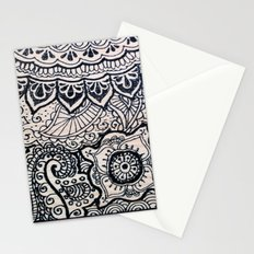 Four sides of a box (ii) Stationery Cards