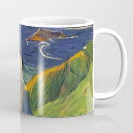 Two Breton Girls by the Sea by Paul Gauguin Coffee Mug