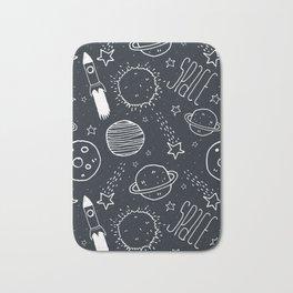 Space Doodles Bath Mat