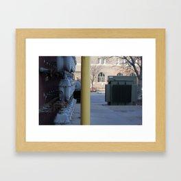 don't hate; segregate Framed Art Print