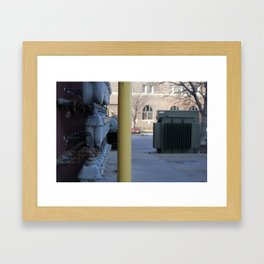 don't hate; segregate Framed Art Print