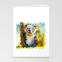 koala Stationery Cards featuring Koala  by ururuty
