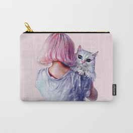 Pink Cuddles Carry-All Pouch