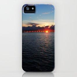 Key Largo, Florida Sunrise iPhone Case