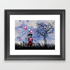 Balloon Killer Framed Art Print