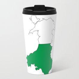 Wales and the Dragon Travel Mug