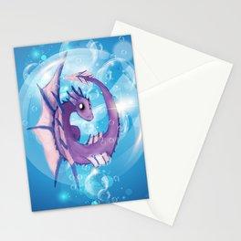 Purple Dragon Hatchling Stationery Cards