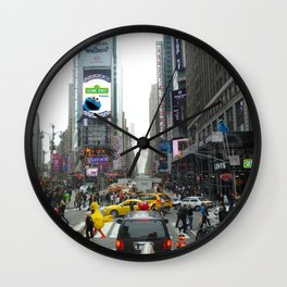 Sesame In The City Wall Clock