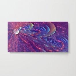 Cosmic Waves Metal Print