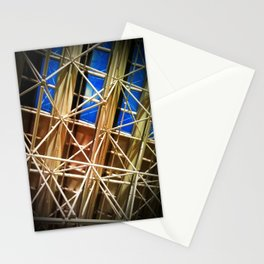 Glass and Steel Stationery Cards