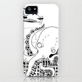 Octopus apocalypse iPhone Case