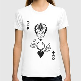 Sawdust Deck: The 2 of Spades T-shirt