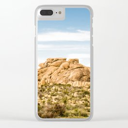 Big Rock 7404 Joshua Tree Clear iPhone Case