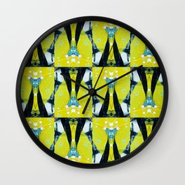 Lime links_Pyraw Wall Clock
