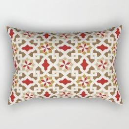 Beautiful oriental flower pattern 5 Rectangular Pillow